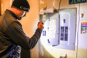 Maui home electrical panel inspection service by licensed electrician