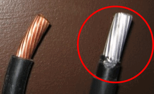 copper vs aluminum wires